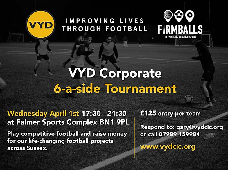 VYD Corporate 6-a-side tournament 2020